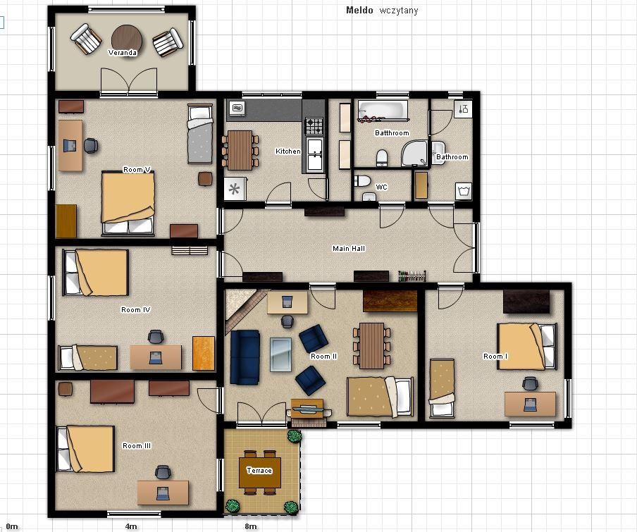 Garden Terrace Apartments: Room In Premium Apartment For Erasmus WITH TERRACE