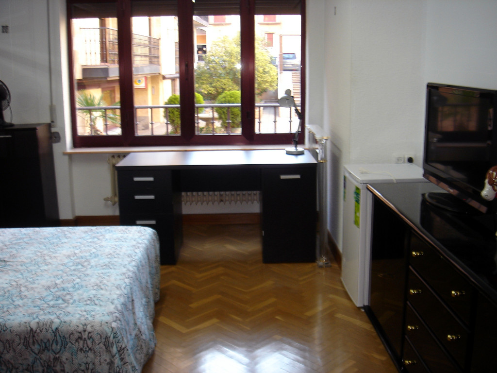 Nice single room with double bed in the center of