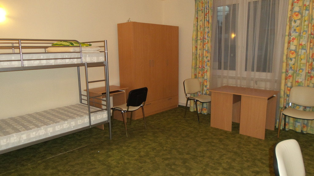 rooms in student private dormitory in warsaw