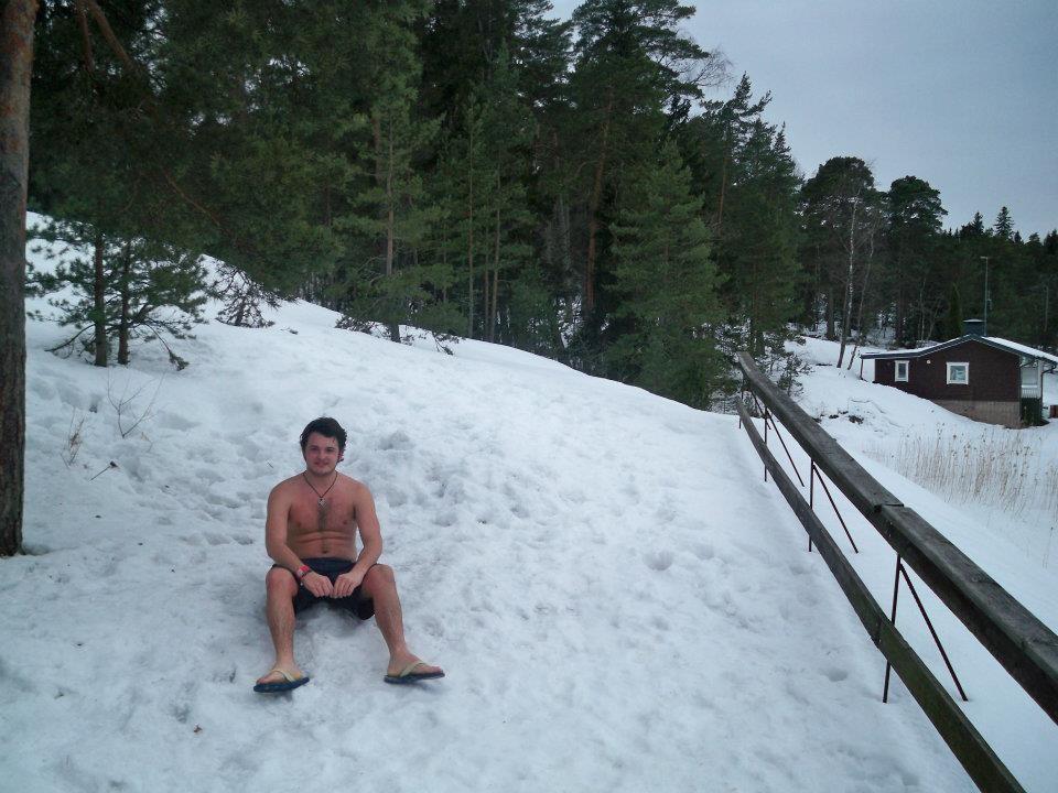 Ruissalo - raj zimą i latem