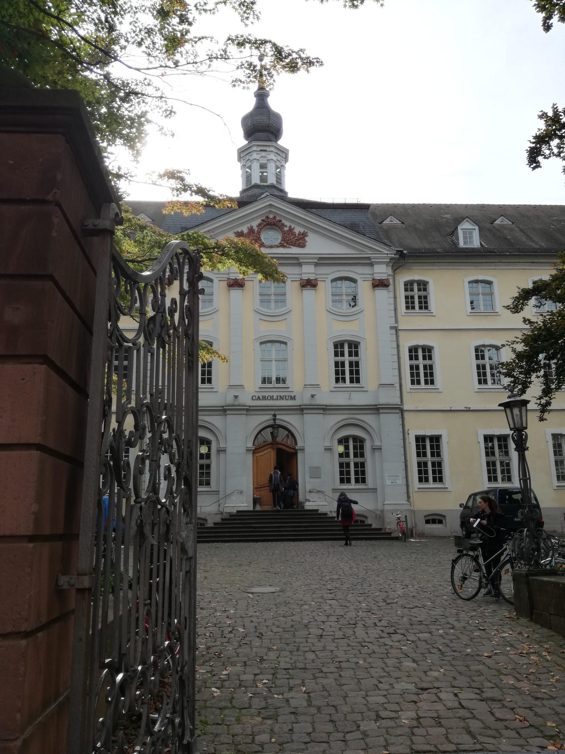Ruprecht-Karls Universitaet: the oldest university in