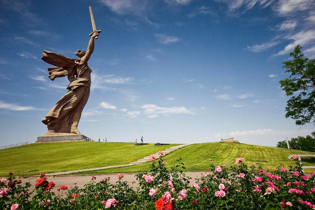 Статуя город небо бесплатно