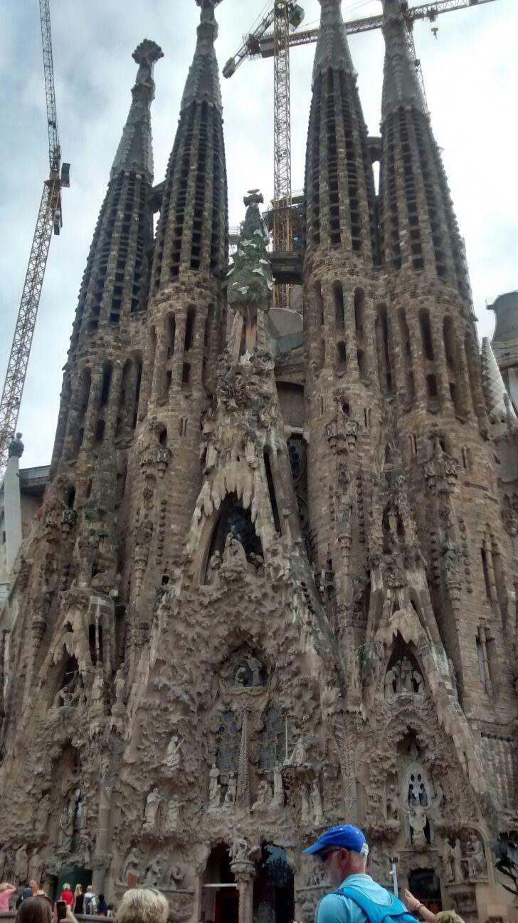 Sagrada Familia, obra inacabada