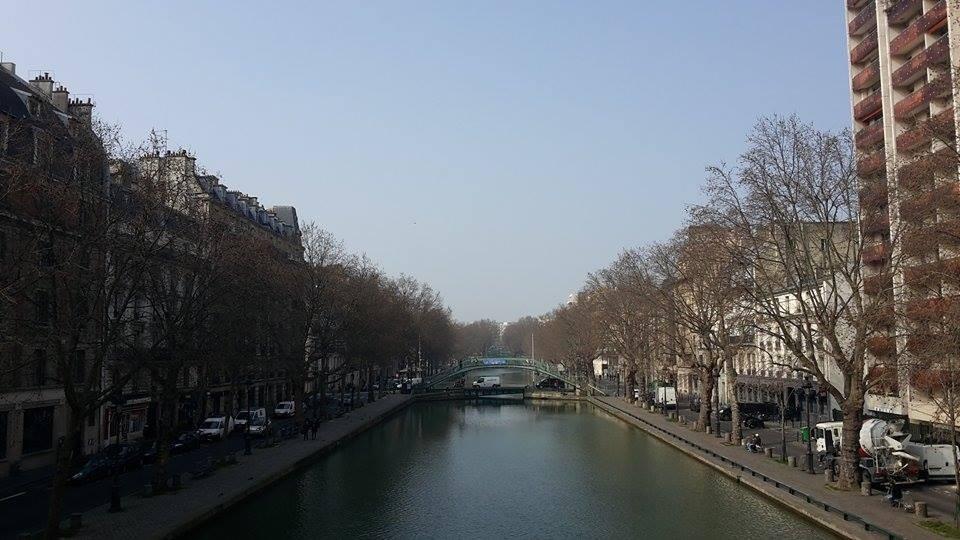 Saint-Martin Kanaal   Parijs