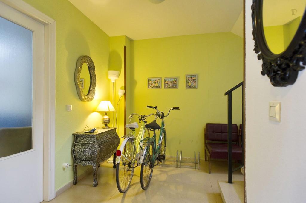 Salamanca Single Bedroom With Private Bathroom Wifi