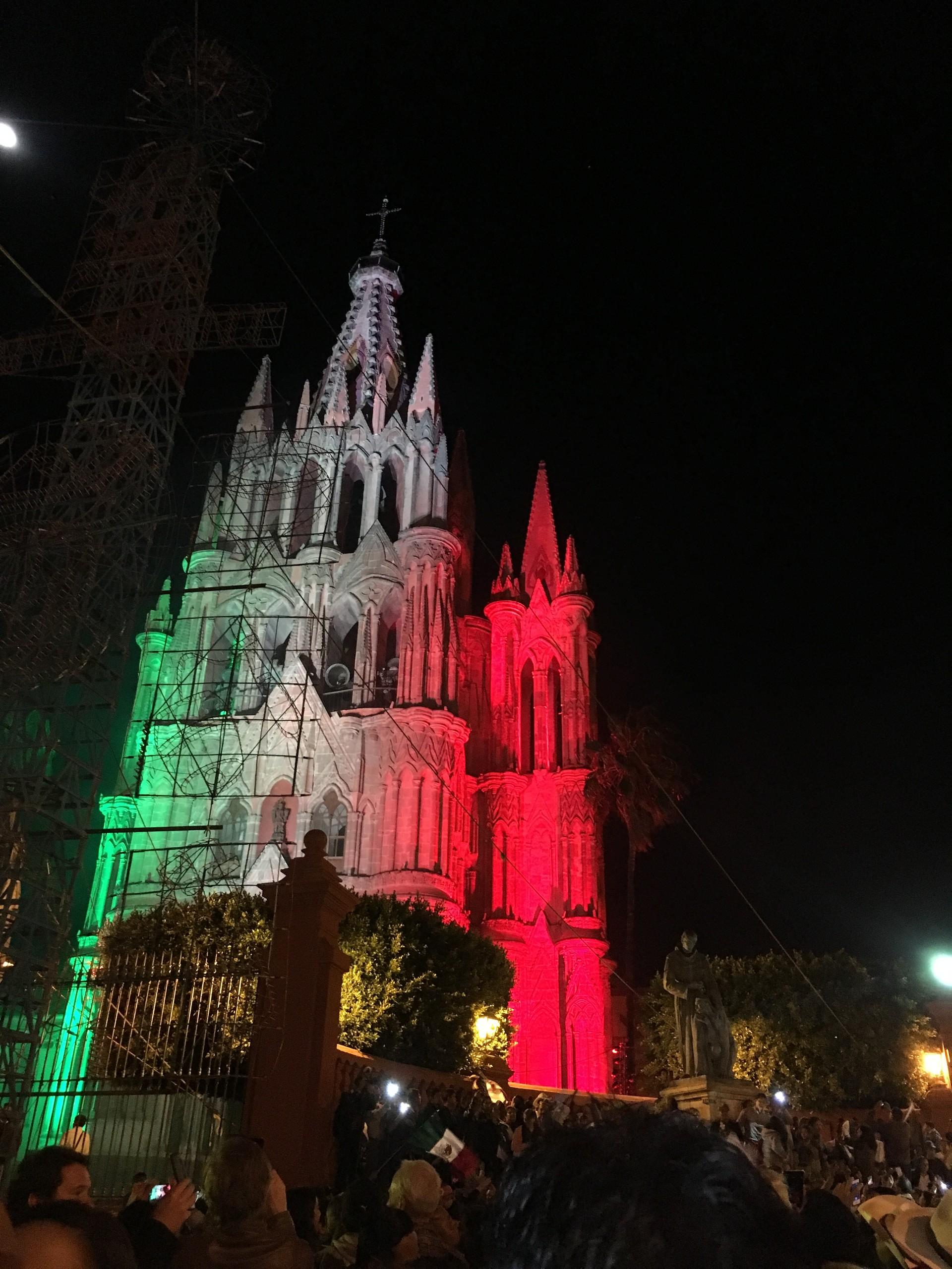 San Miguel de Allende - Día de la Independencia de México