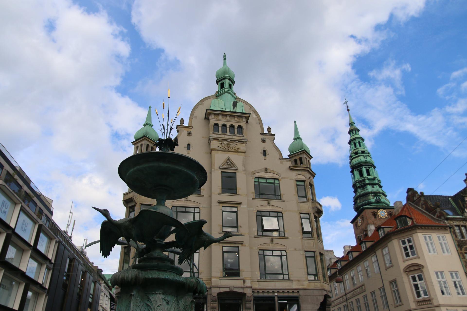 Saving my money in Copenhagen.