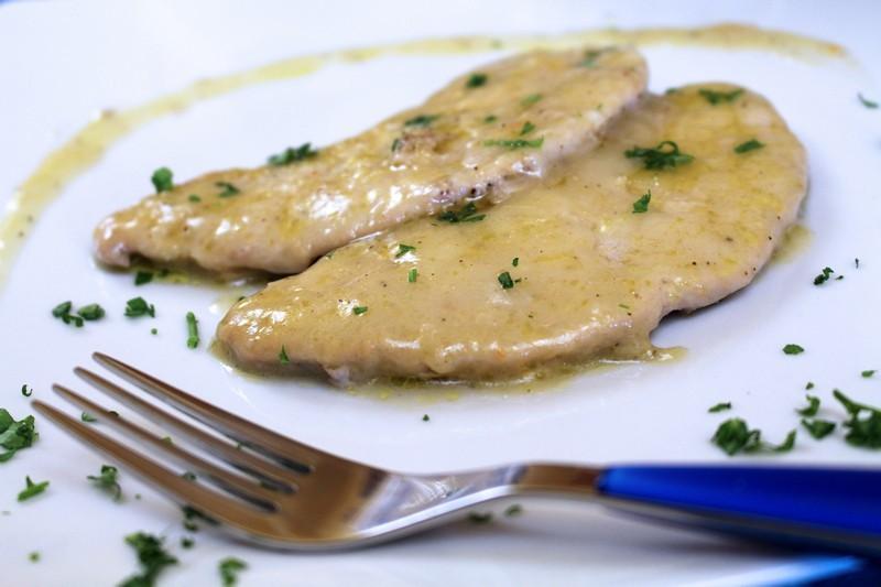 recipe: scaloppine di pollo al limone [21]