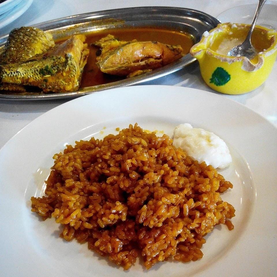Seaside restaurant: Club Nautico (Alcazares)