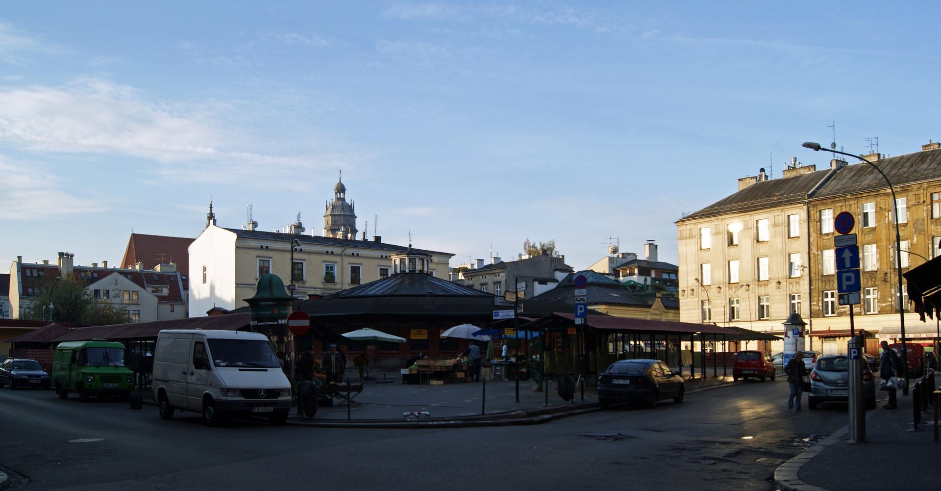 Serce żydowskiej dzielnicy Krakowa