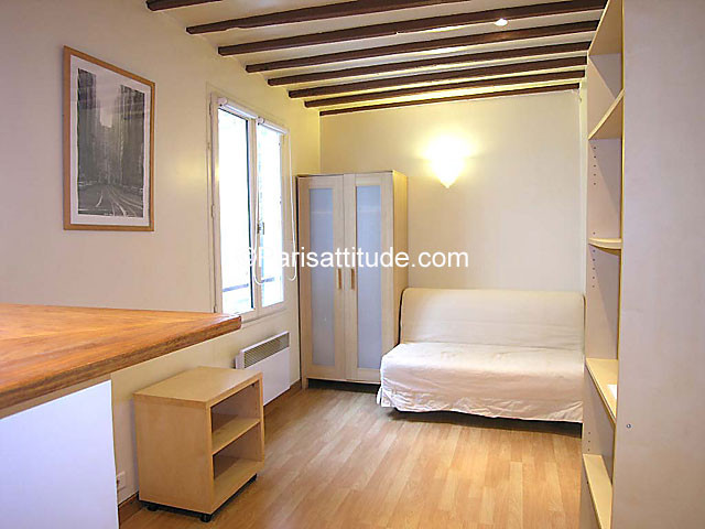 Shared Studio Apartment 15th Arr Very Cheap 750 Euro But