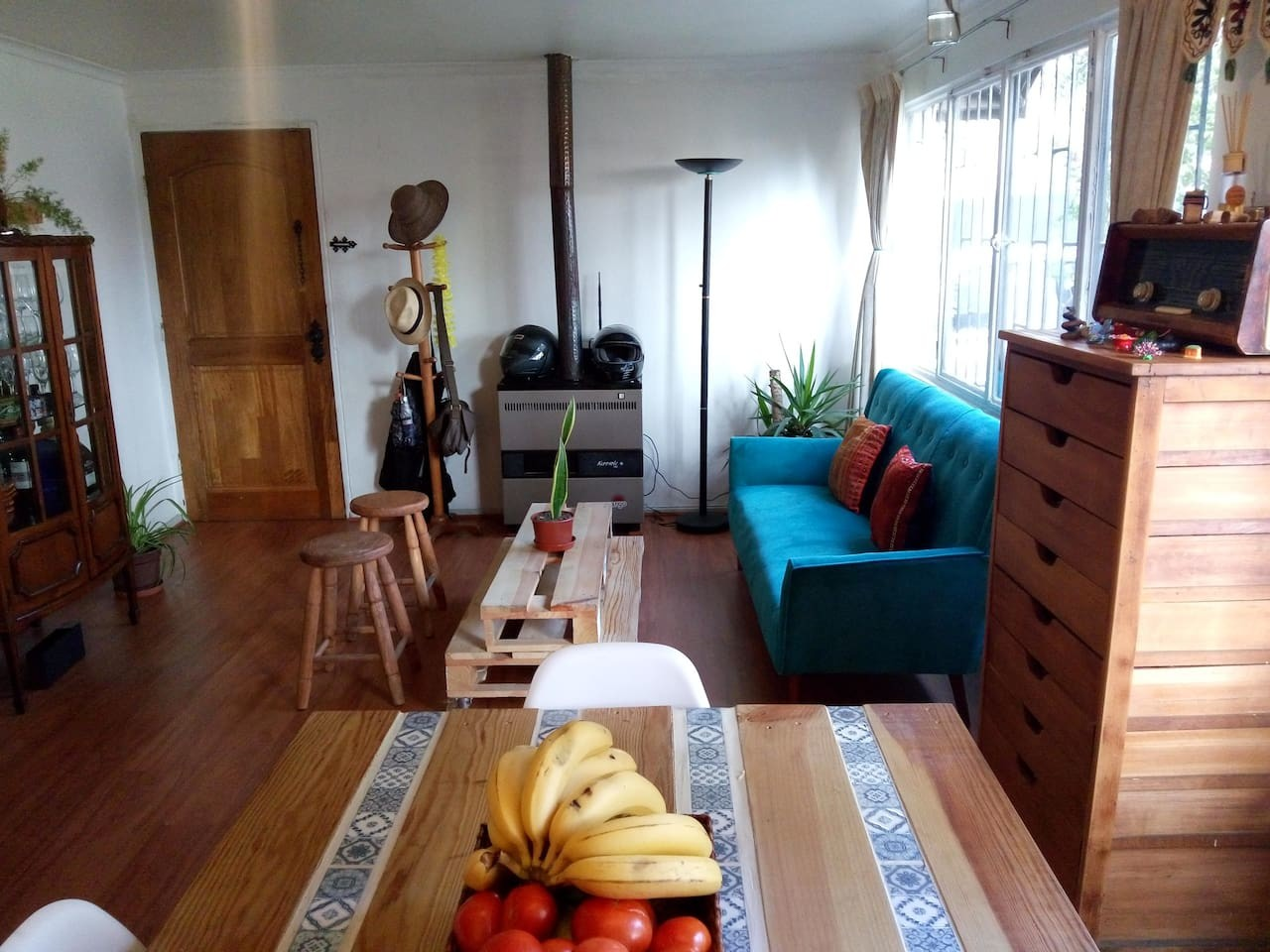 Cozy Room shared house- cozy room, great house in Ñuñoa | room for rent santiago