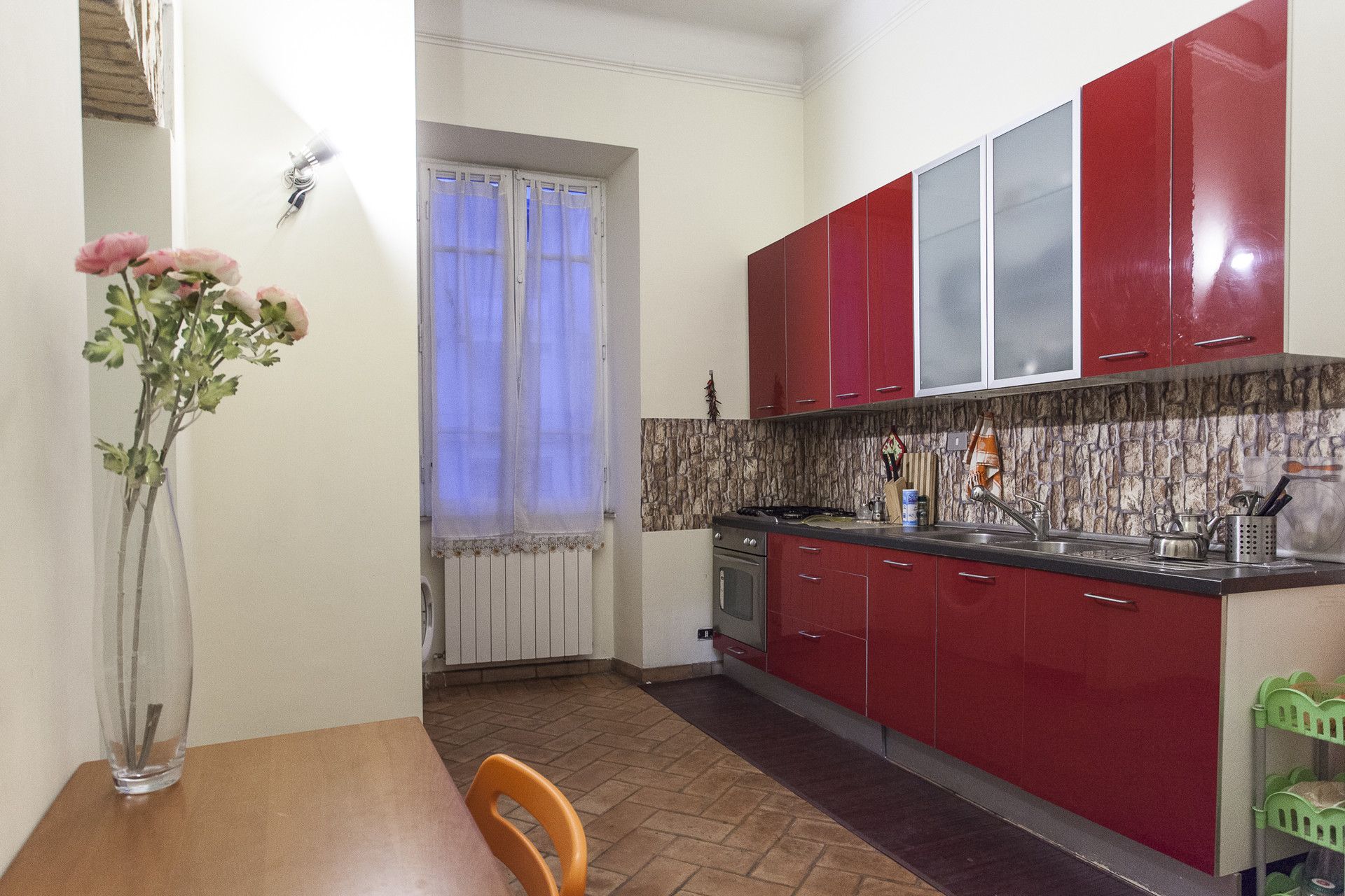 Single and bright room renovated apartment