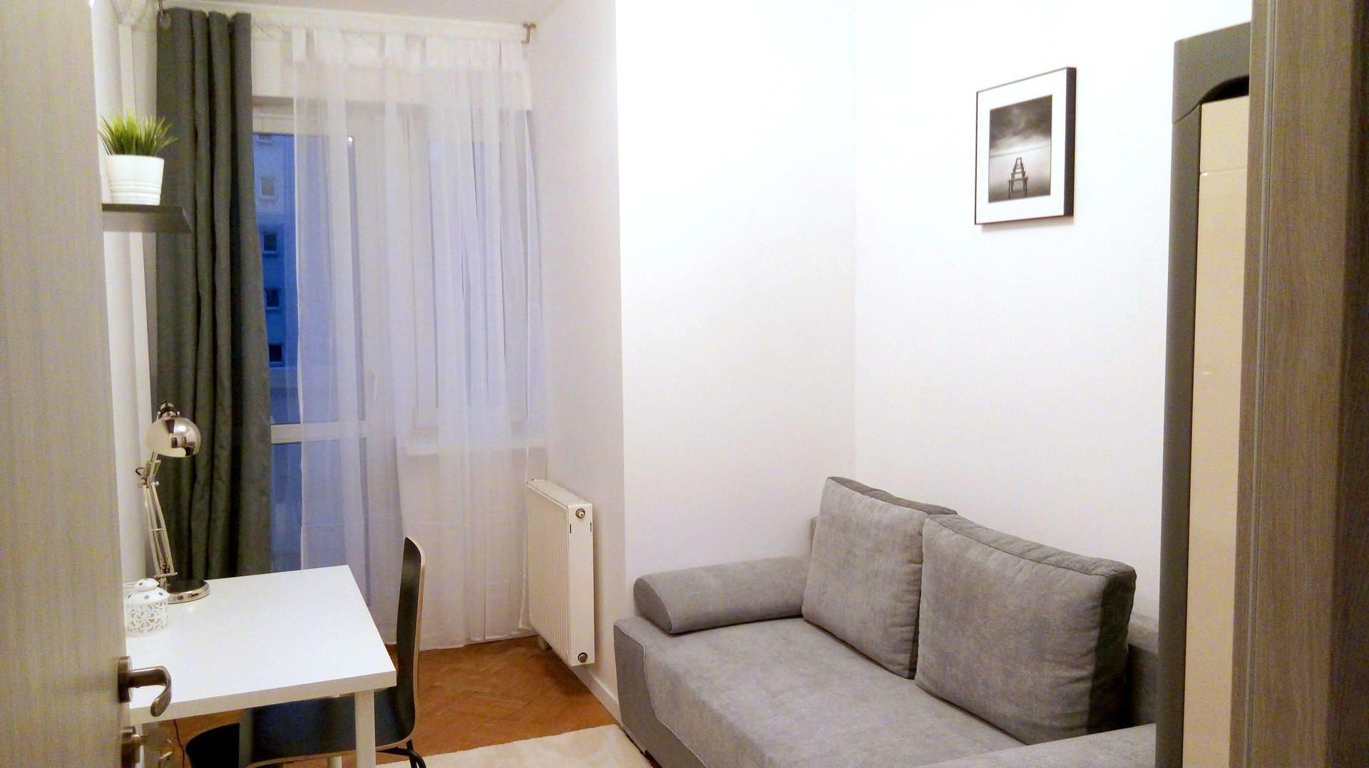Single room number 2 with large balcony for use only own.
