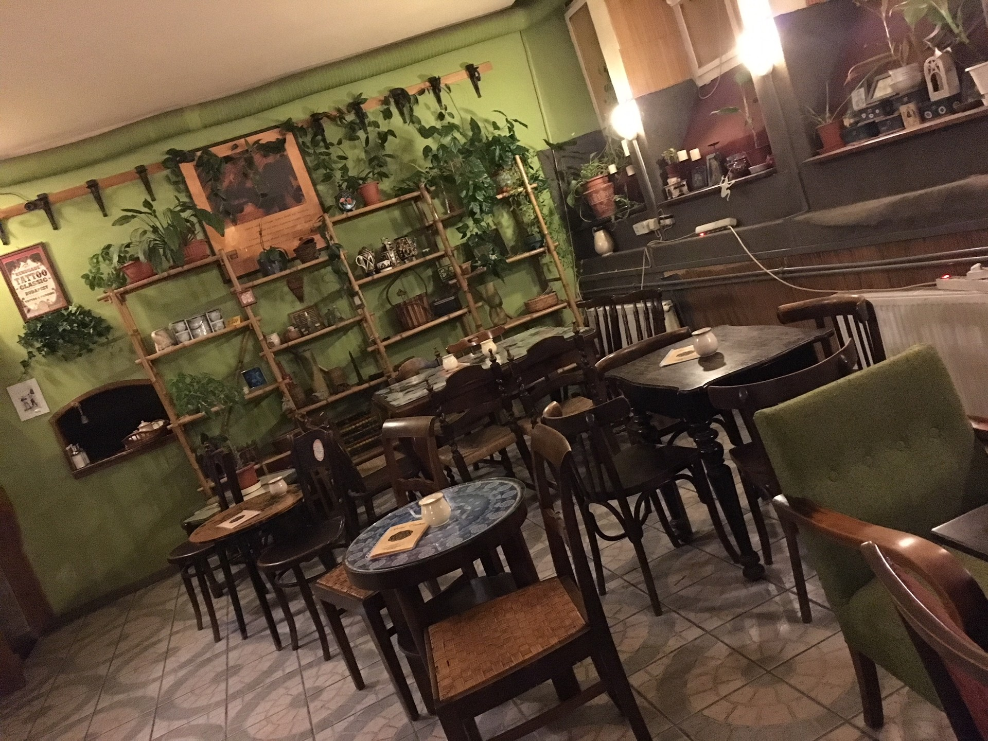 Cafe hopping :Sirius Tea house | Erasmus blog Budapest, Hungary on glass house cafe, muffin house cafe, coffee house cafe,