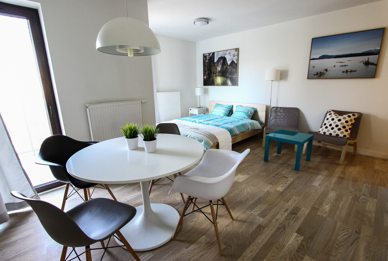 Small apartments with an area of 28-36 m2 in Krakow