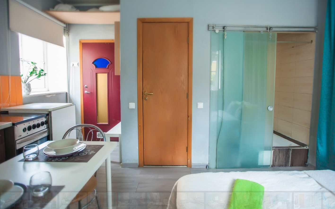 Small beautiful studio in old town of Vilnius