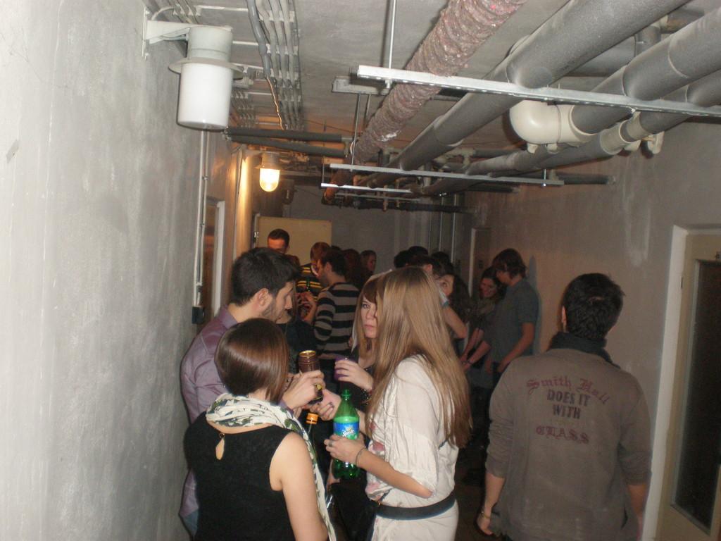 Soirée au sous-sol