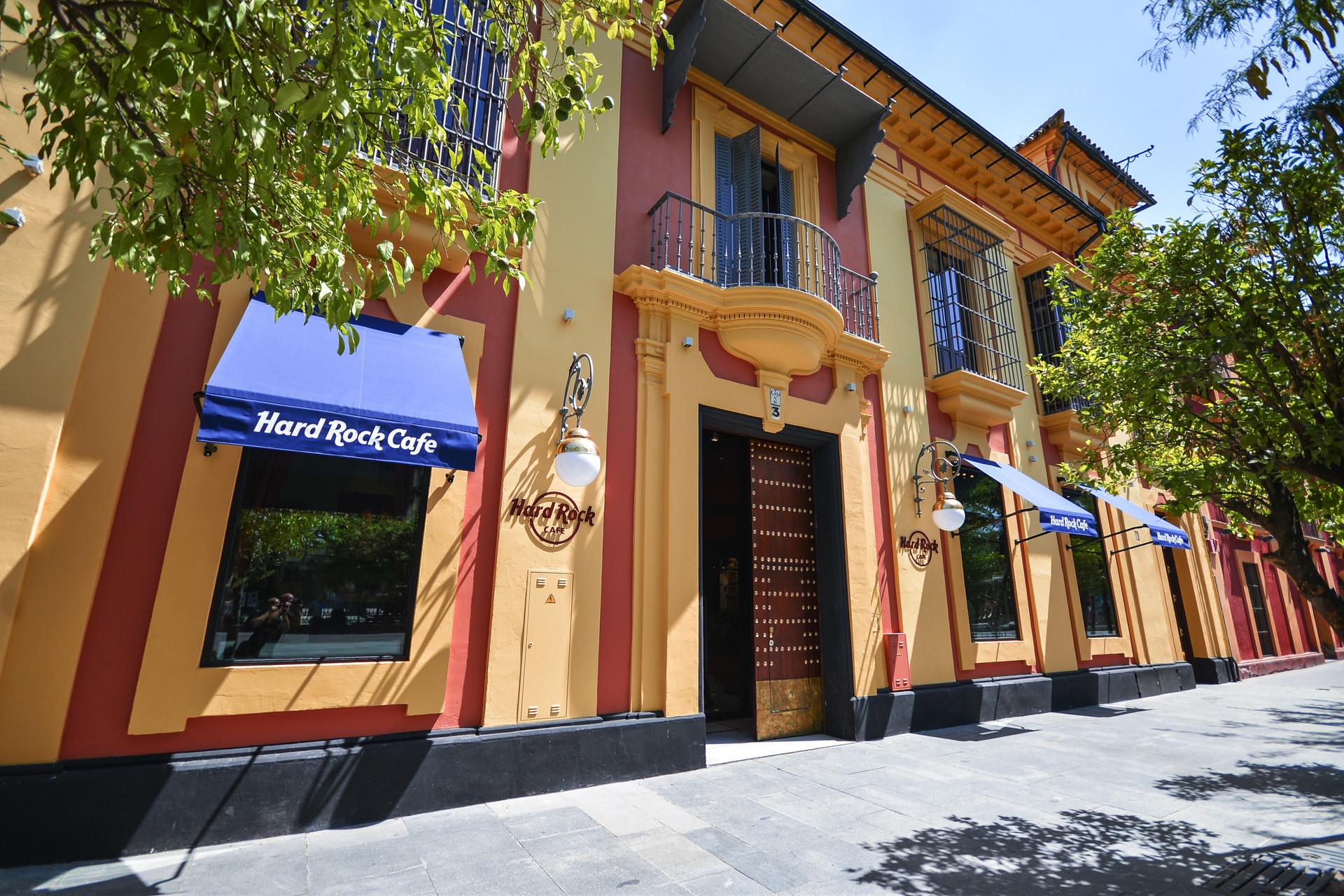 Hard Rock Cafe Sevilla Where To Eat In Sevilla