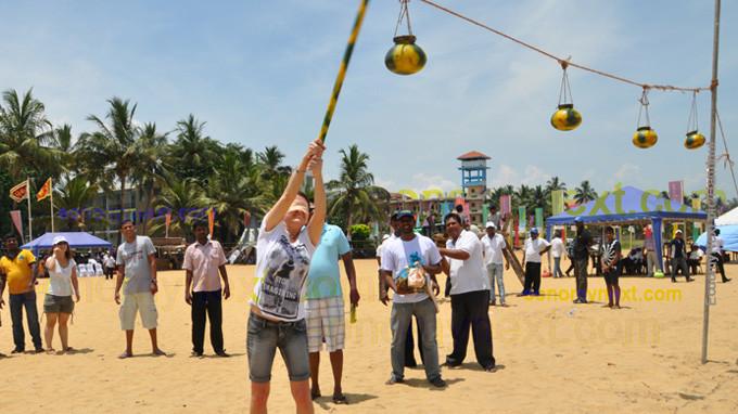Sri Lankan new year festival.