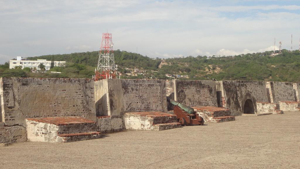 Stancante, calda e noiosa visita al Castello di San Felipe de Barajas