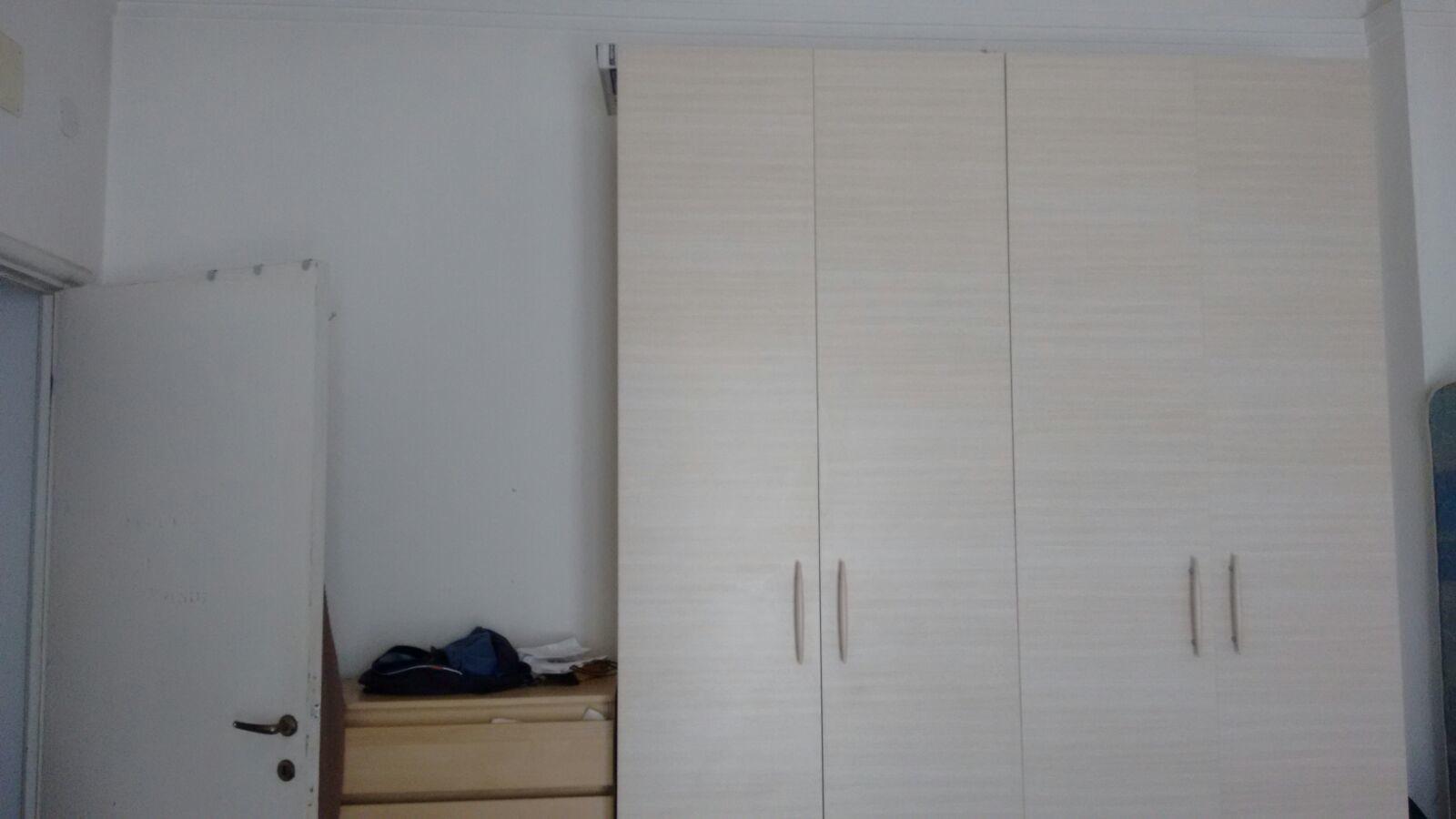 stanza doppia luminosa, ampia e con balcone