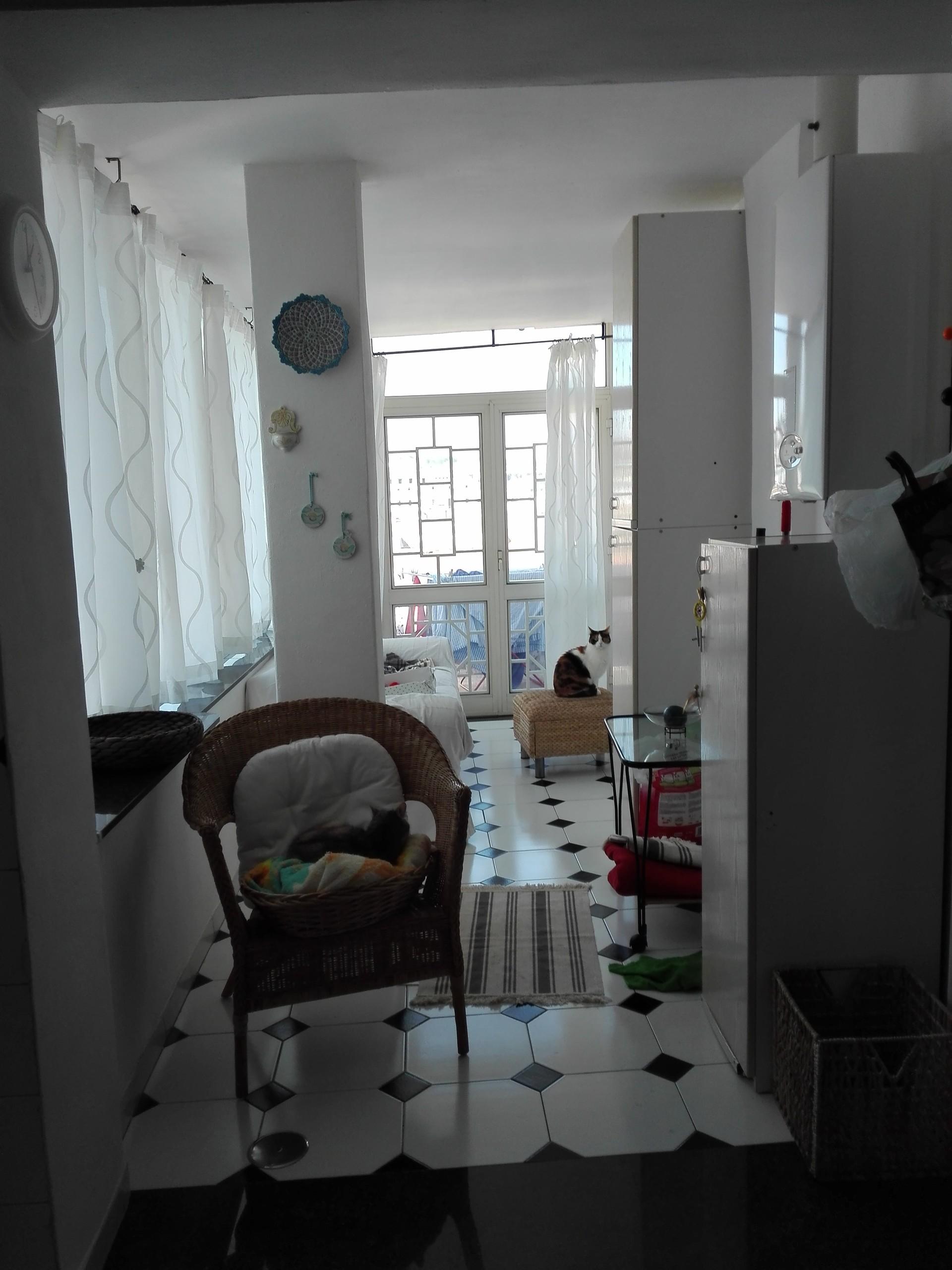 Stanza singola in appartamento ristrutturato e panoramico