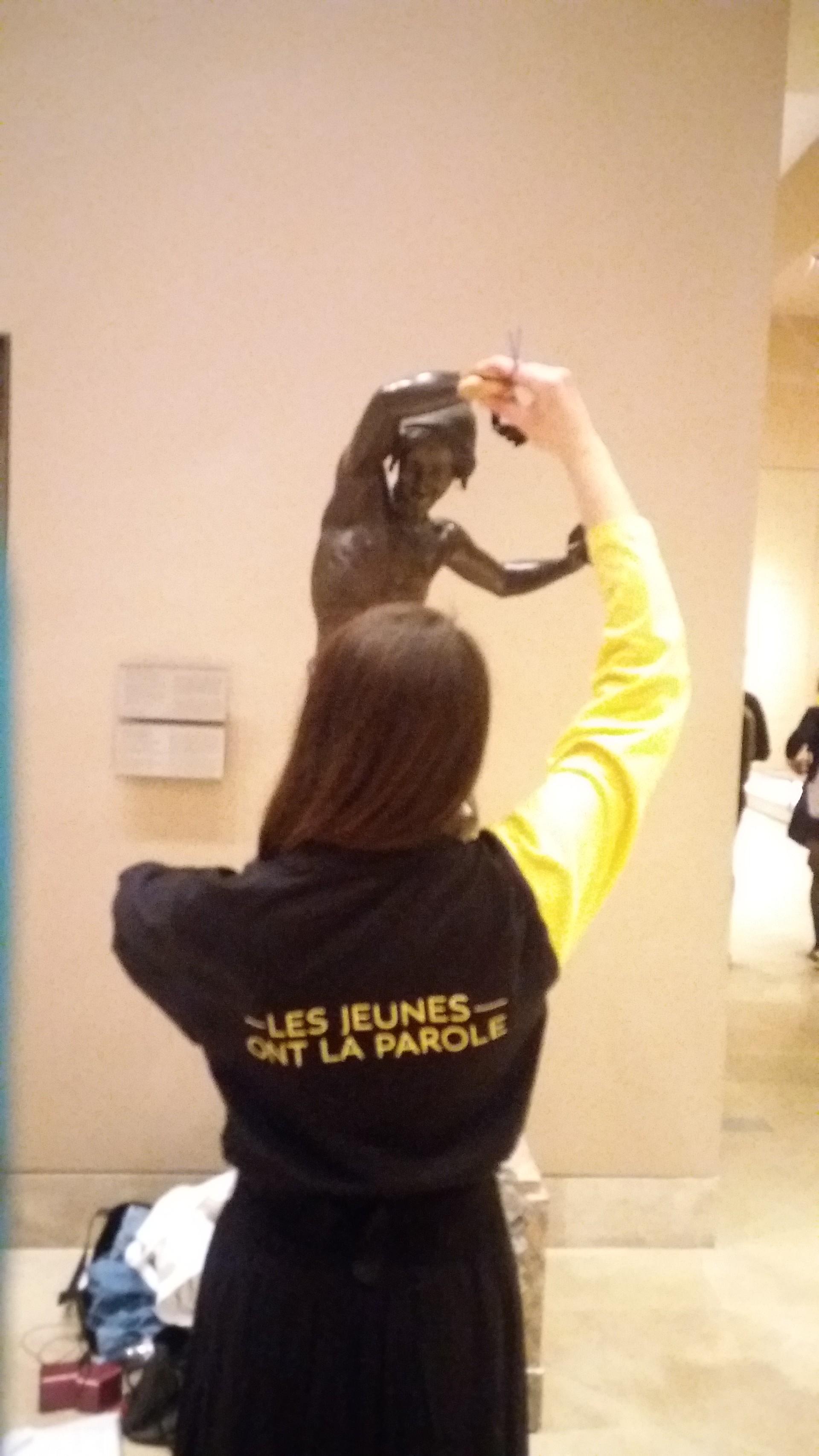 Stasera lavoro...al museo del Louvre!