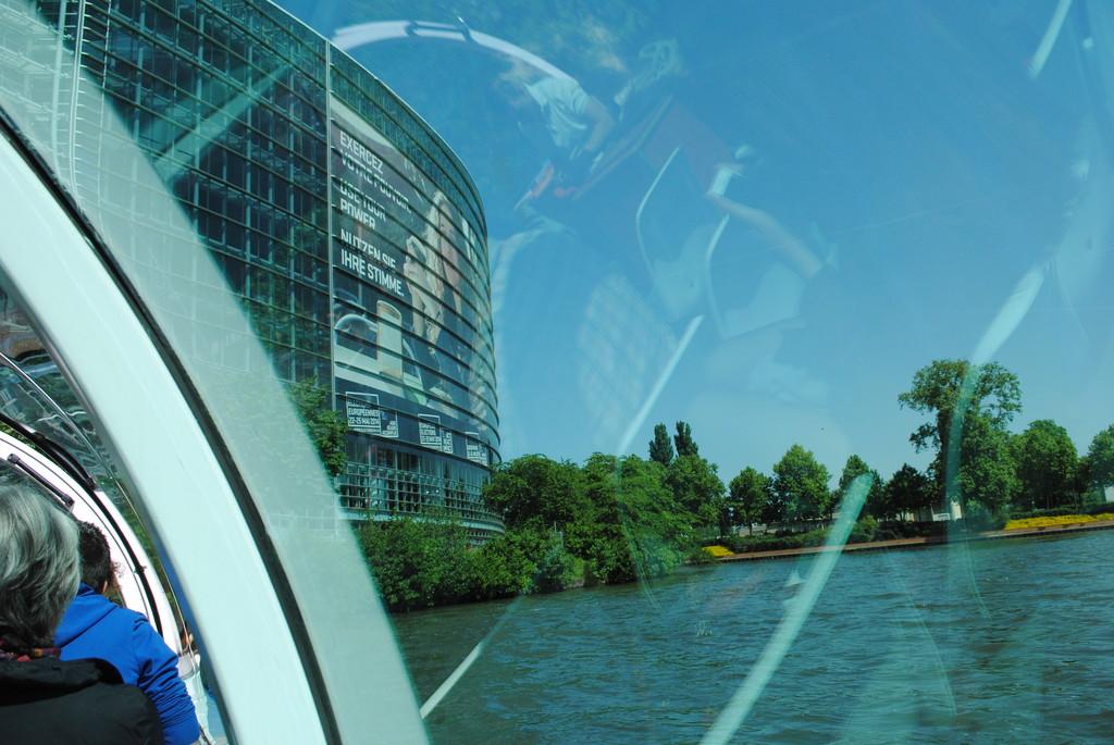 Strasburgo. sede delle istituzioni europee