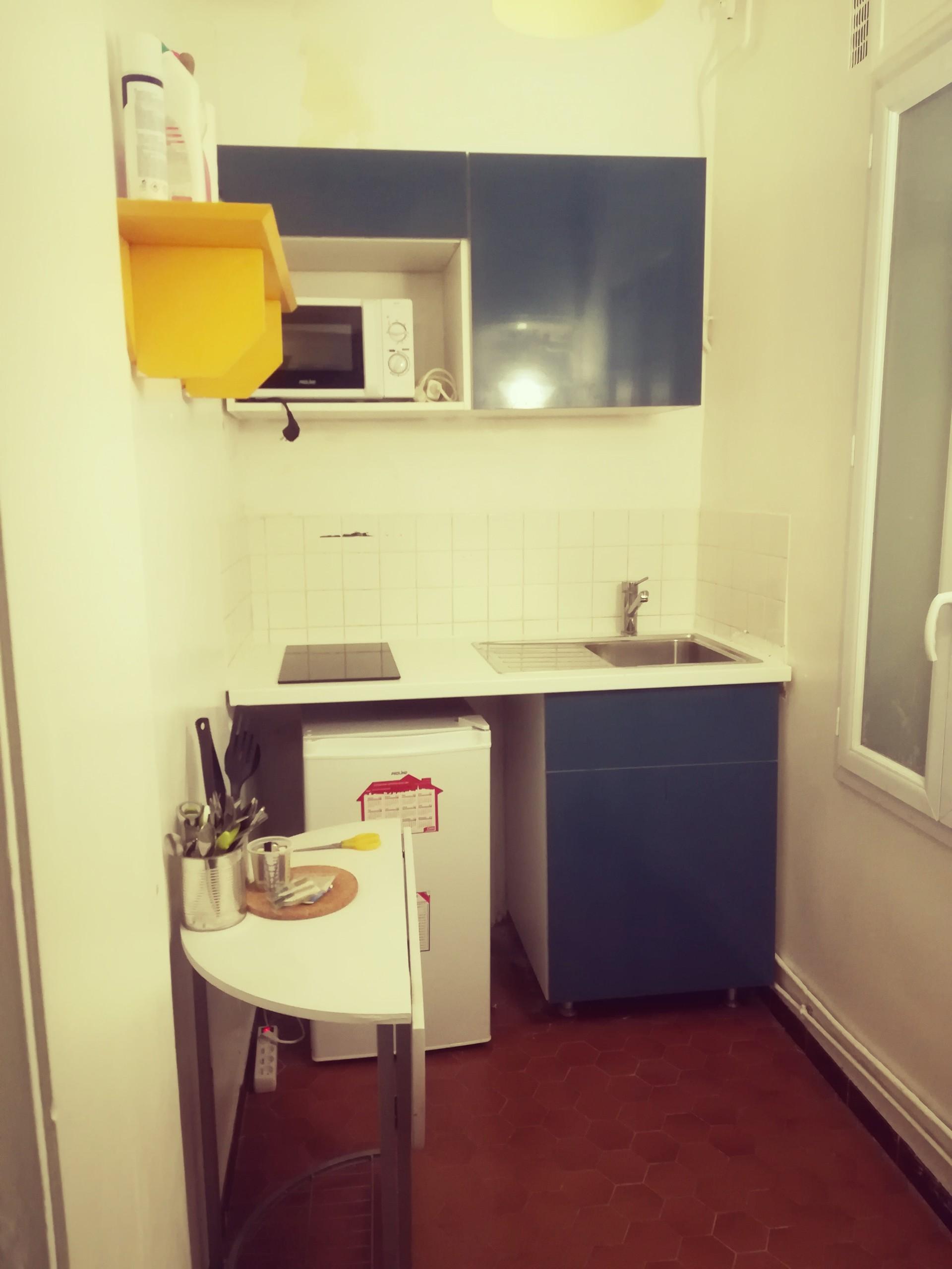 Studio 20 M2 in PAris 17eme Batignoles | Rent studios Paris