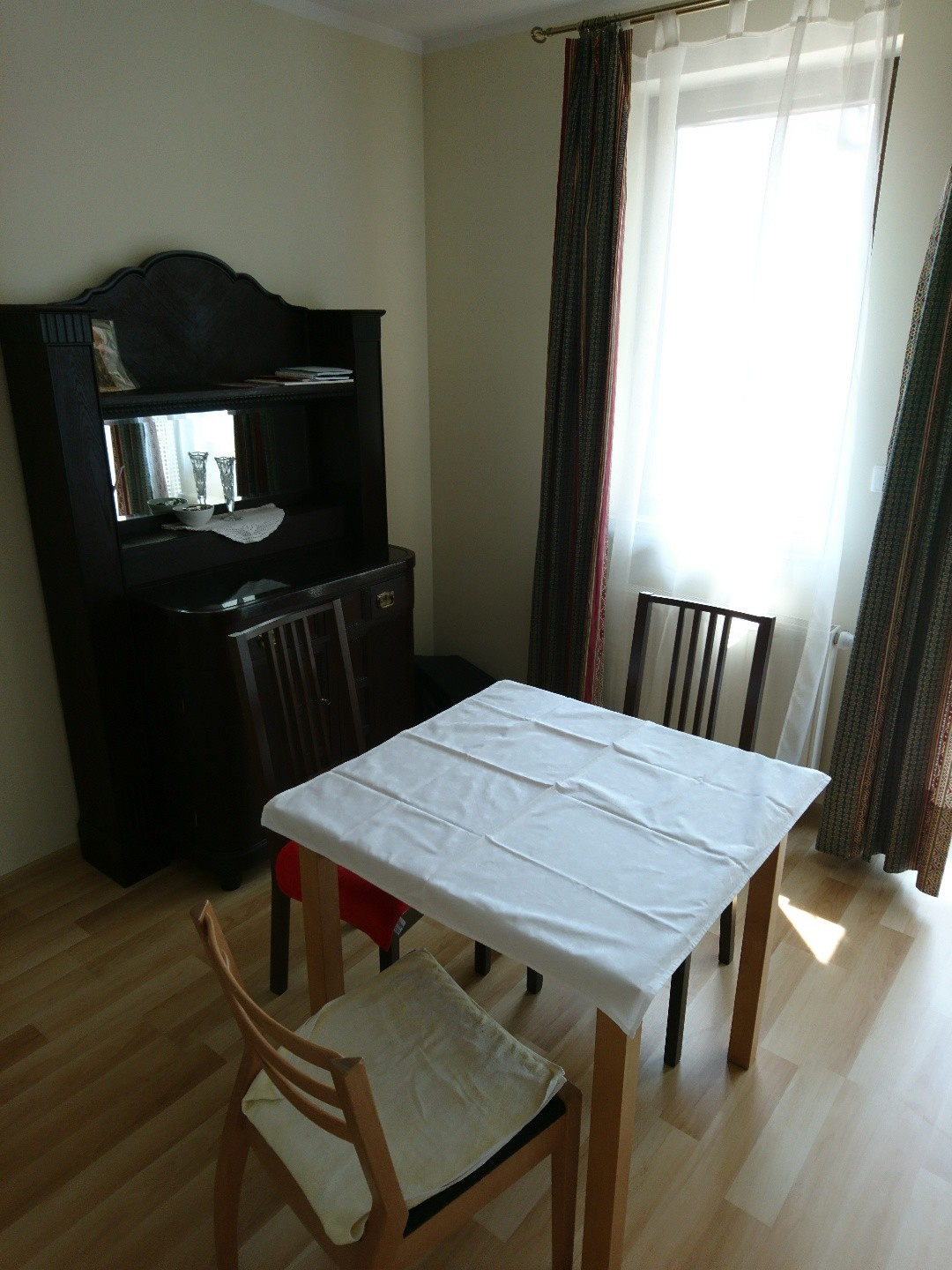 studio apartment in an elegant building in the city center