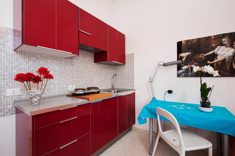 Studio Apartment With Kitchen And Private Bathroom Rent Studios Rome