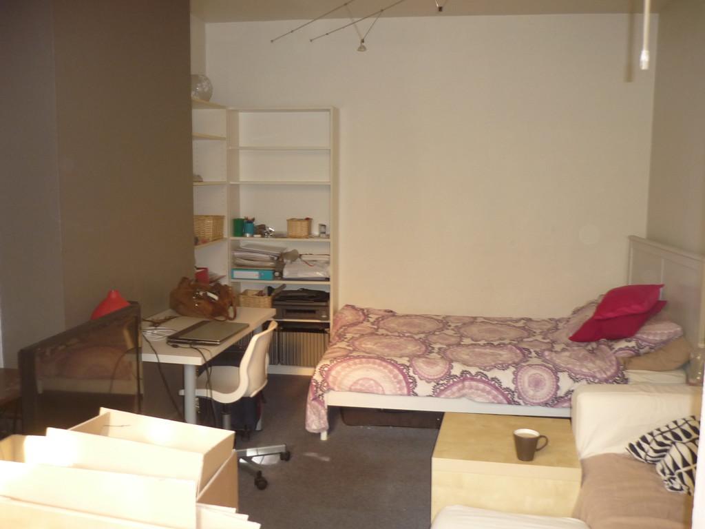 Nice Studio Avec Jardin Près De Lu0027ULB à Ixelles ...
