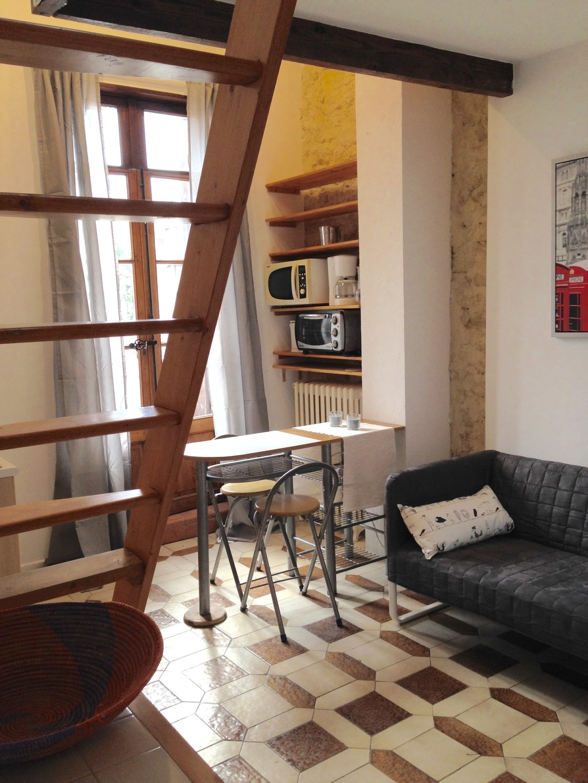 Studio Mezzanine for 2 | Rent studios Montpellier