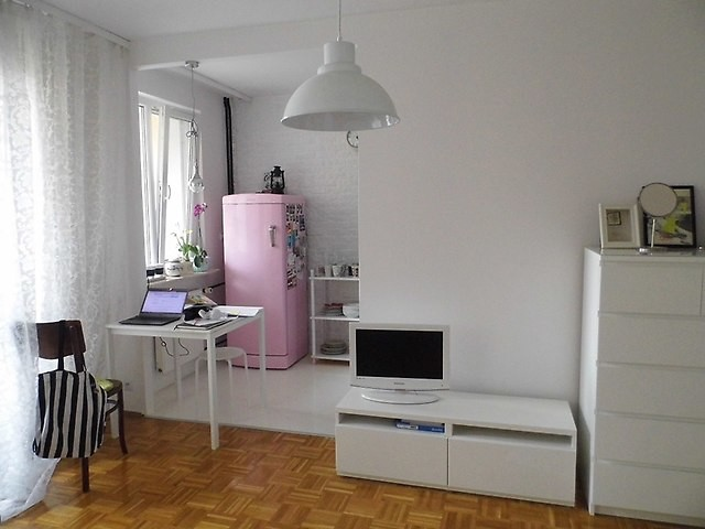 stylish fully furnished 30m2 studio flat to rent rent studios wroclaw. Black Bedroom Furniture Sets. Home Design Ideas