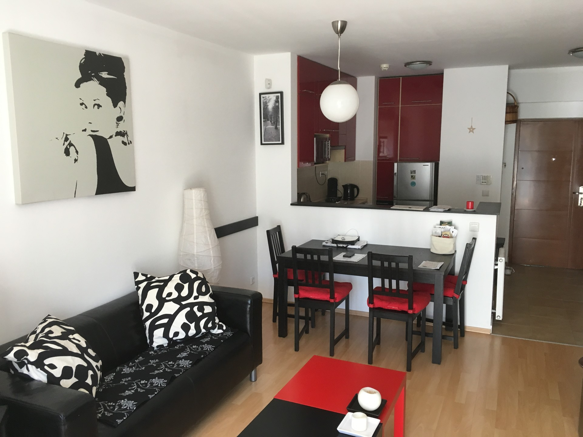 Stylish modern and fully furnished apartment with rooftop access ...