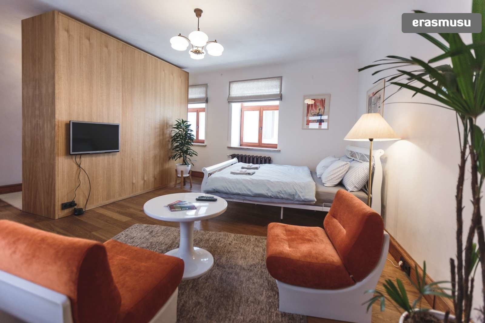 Stylish studio apartment for rent in Vecrīga