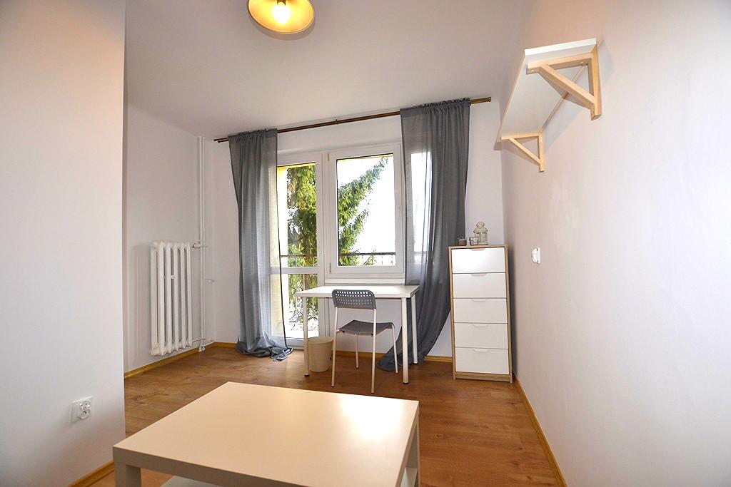 Sunny room with a balcony nearby Rzeszów University of Technolog