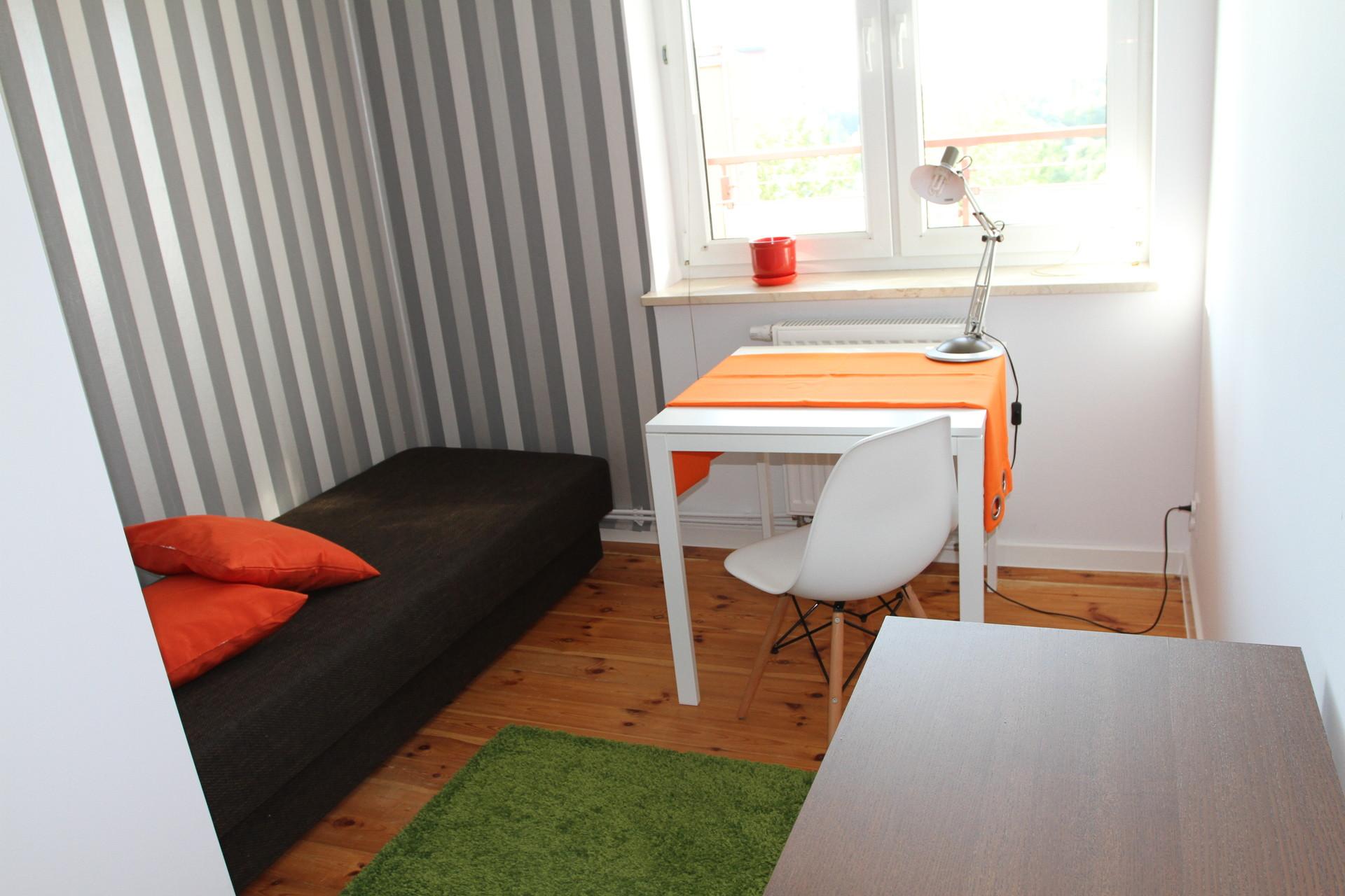 Sunny room in the new block in Warsaw