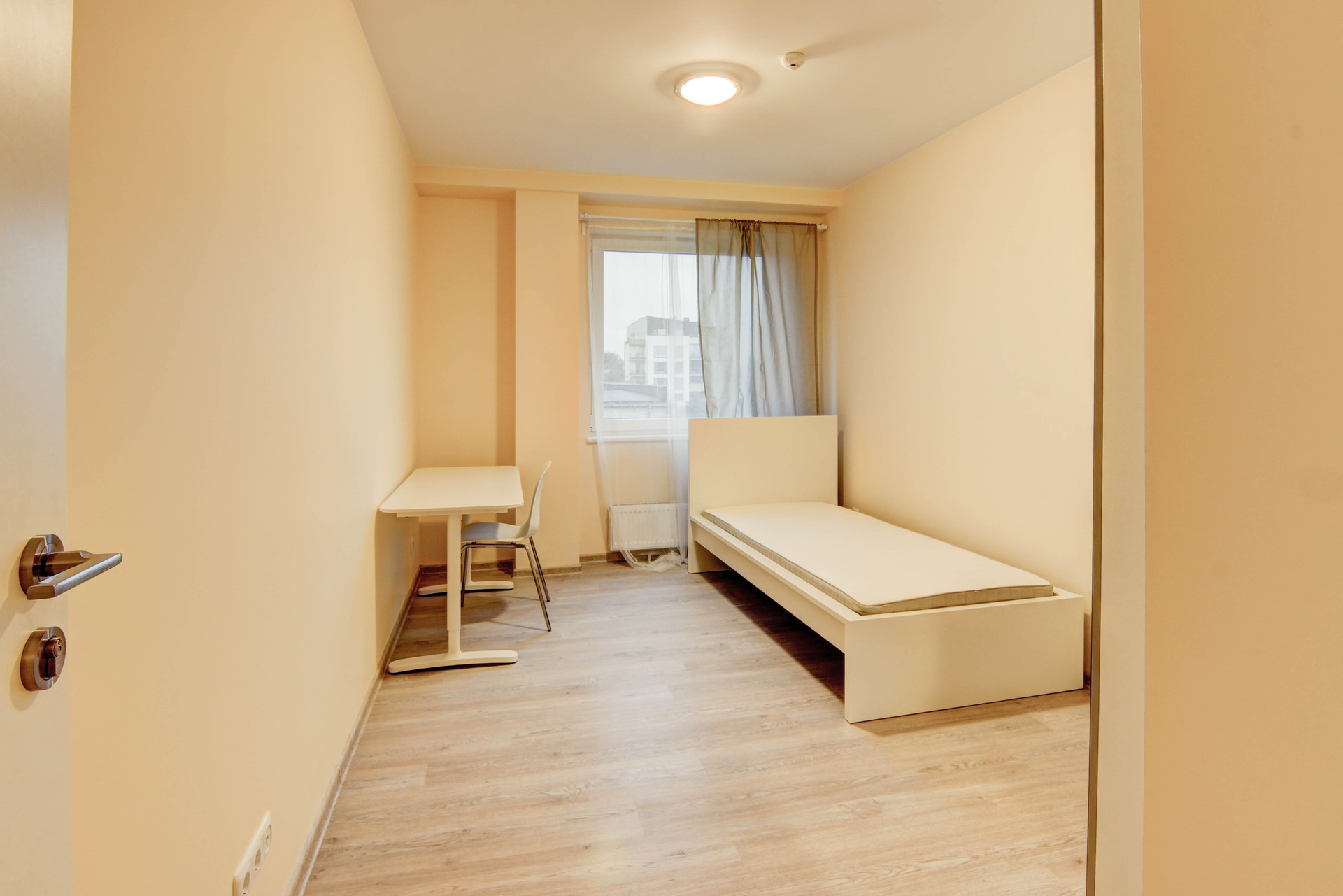 Sunny And Spacious Room In Brand New 3 Room Apartment