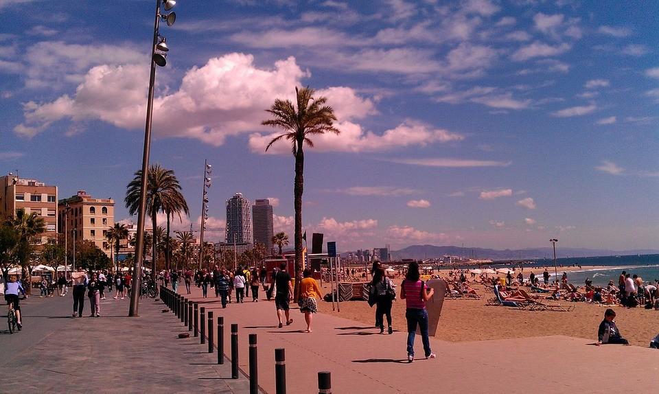 Superbe visite de la Barceloneta