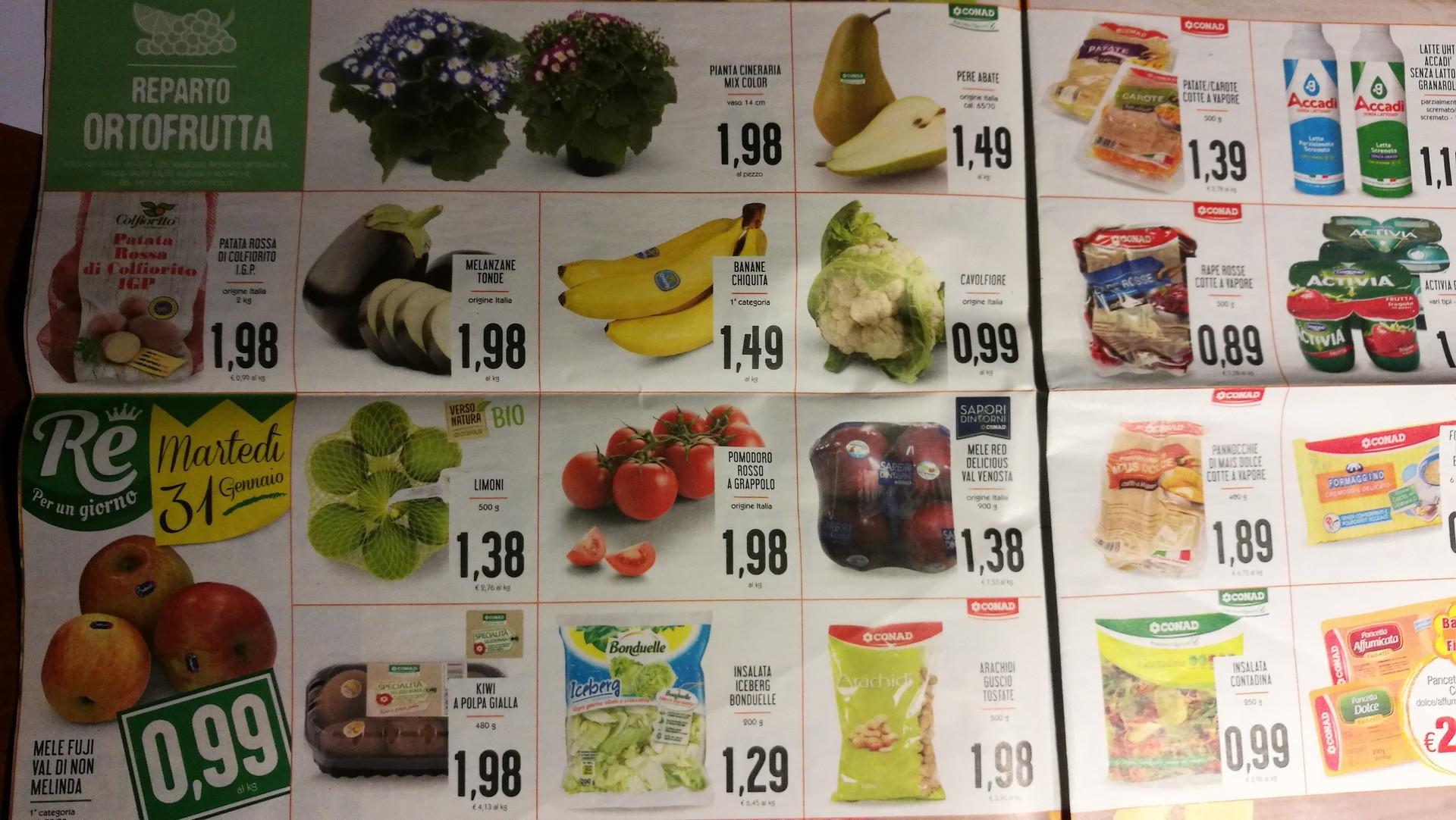 Supermarkety w Rzymie