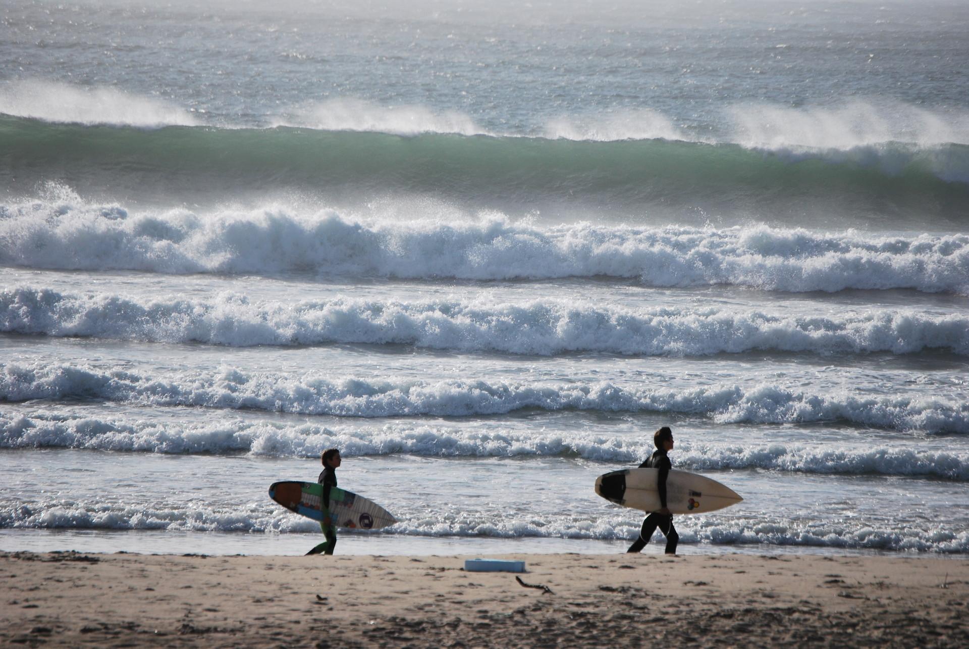 Surf en Oporto y la playa de Matosinhos