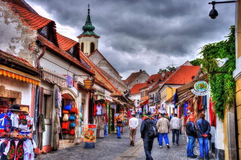 Szentendre, miejsce gdzie czas się zatrzymał
