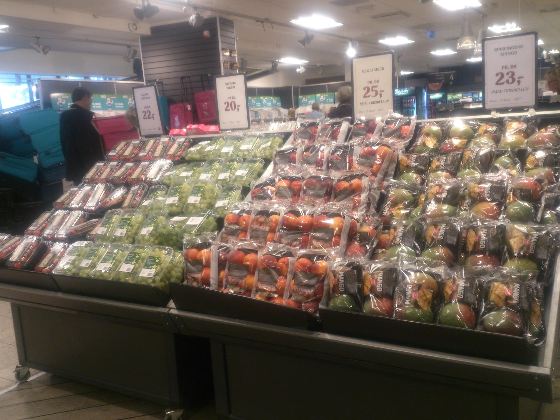 Tanie zakupy spożywcze w Kopenhadze