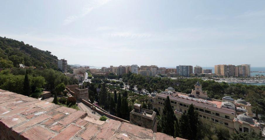 ¡Te enseño qué ver en Málaga! 3. Alcazaba y gibralfaro