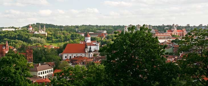 Ten months in the Geographical centre of Europe; Lithuana
