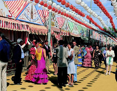 The April Fair - Seville