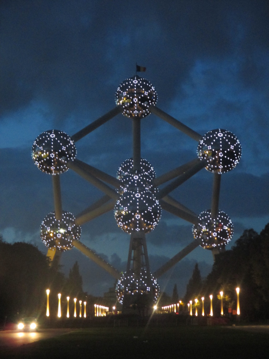 The Atomium, futuristic and timeless