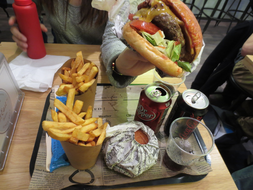 The best hamburger joint in France
